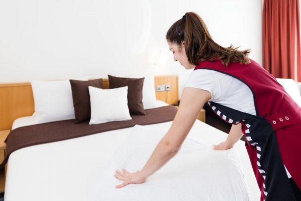 Hotel Höfli Altdorf: Zimmerservice im Doppelzimmer Comfort
