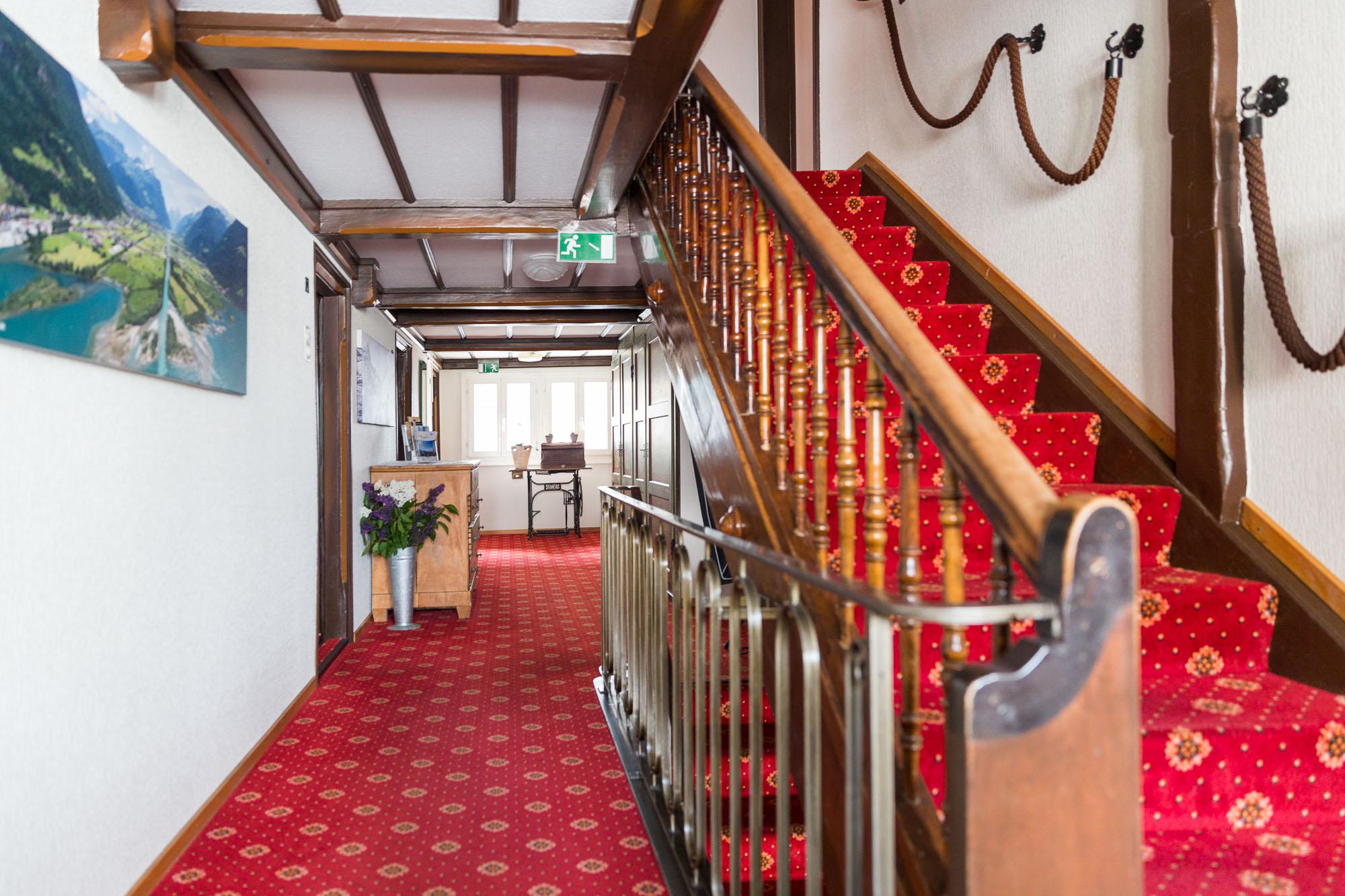 Doppelzimmer Classic Treppenhaus
