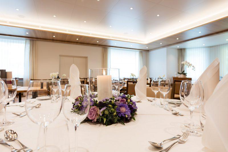 Hotel Höfli Altdorf: Tischgedeck für Ihre Hochzeit