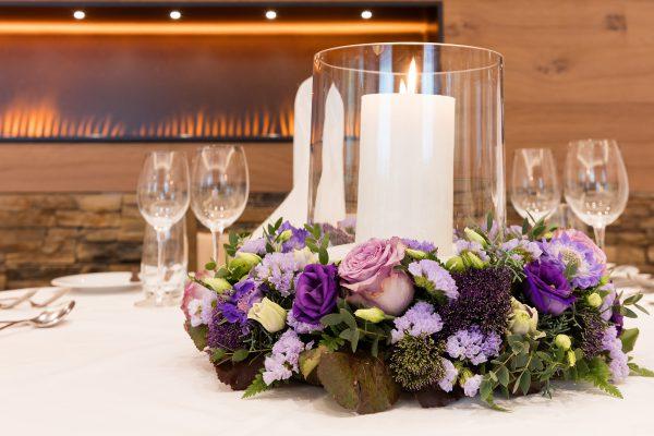 Hotel Höfli Altdorf: Blumengedeck für Ihre Hochzeit