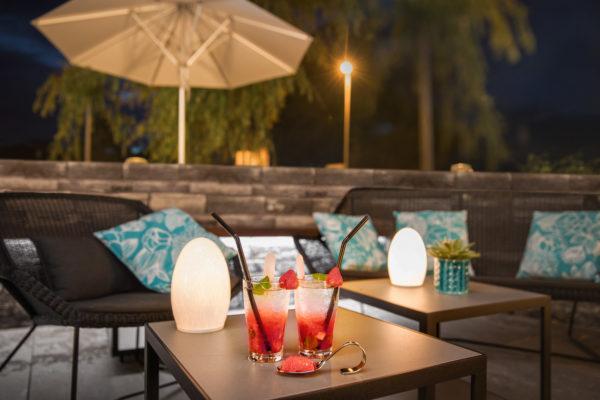 Hotel Höfli Altdorf: Neue Terrasse mit Loungebereich