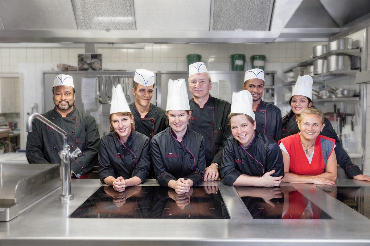 Hotel Höfli Altdorf: Kitchen team