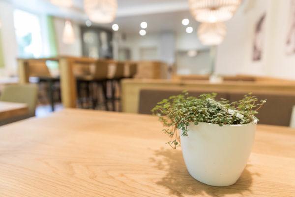 Hotel Höfli Altdorf: Tischdekoration Pizzeria