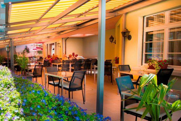 Hotel Höfli Altdorf: Terrasse